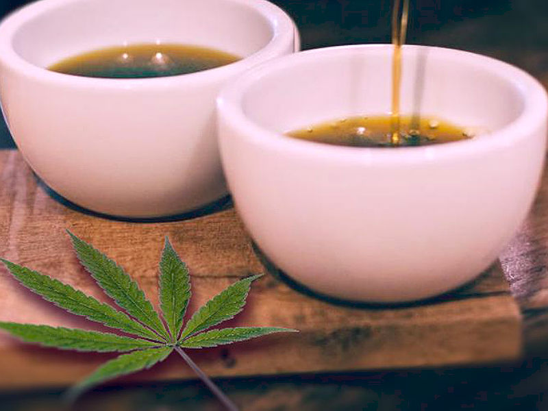 Tea and cannabis